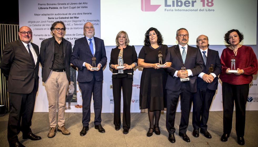 Premios LIBER 2018 FGEE Barcelona